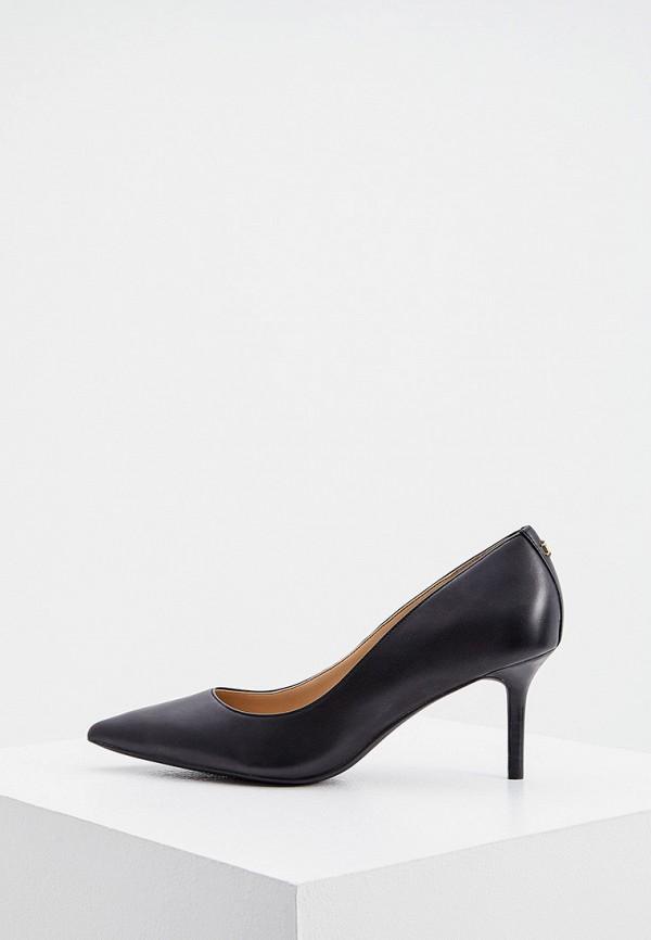 женские туфли-лодочки lauren ralph lauren, черные