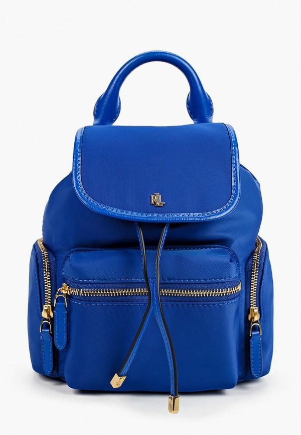 женский рюкзак lauren ralph lauren, синий