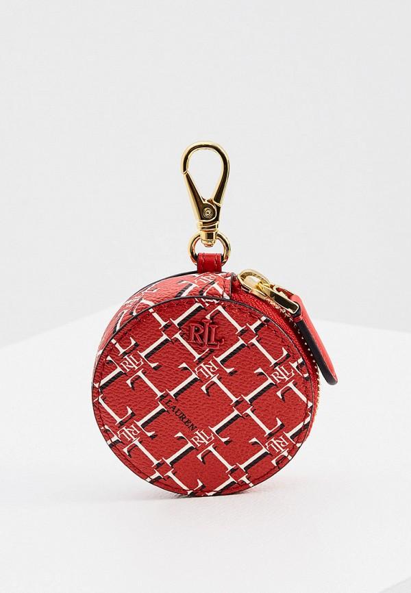 женский кошелёк lauren ralph lauren, красный