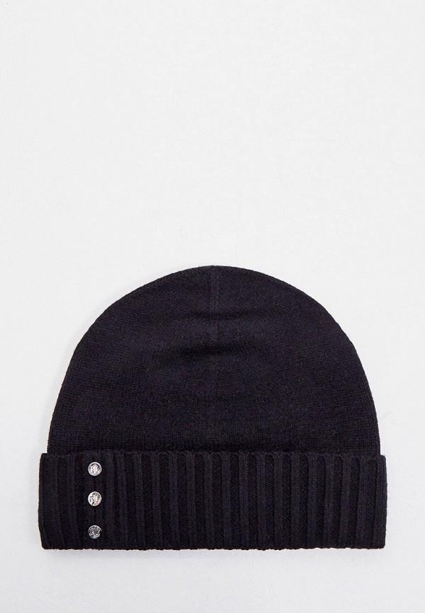 женская шапка lauren ralph lauren, черная