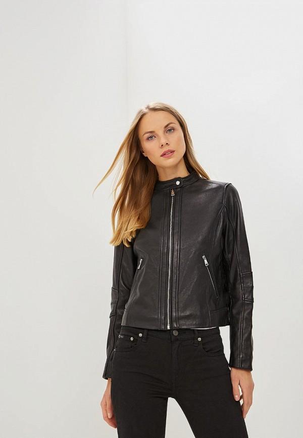 Куртка кожаная  Lauren Ralph Lauren