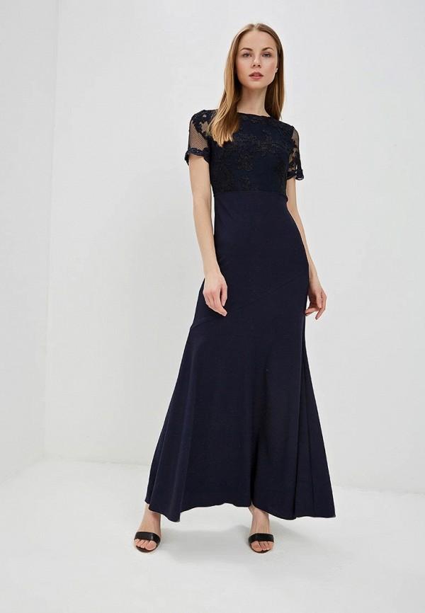 Купить Платье Lauren Ralph Lauren, la079ewefpf6, синий, Весна-лето 2019