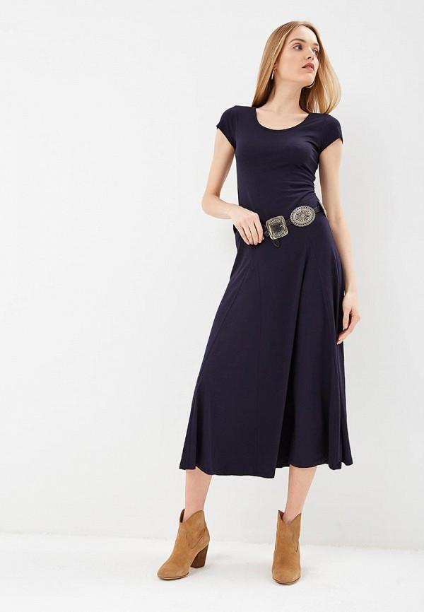 Купить Платье Lauren Ralph Lauren, la079ewefpk0, синий, Весна-лето 2019