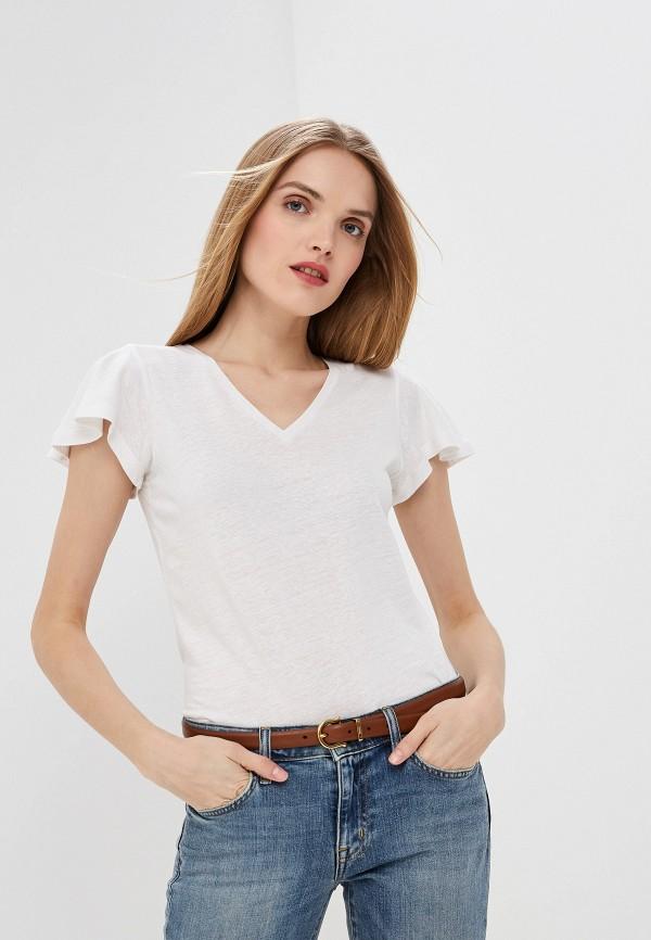 Фото - женскую футболку Lauren Ralph Lauren белого цвета