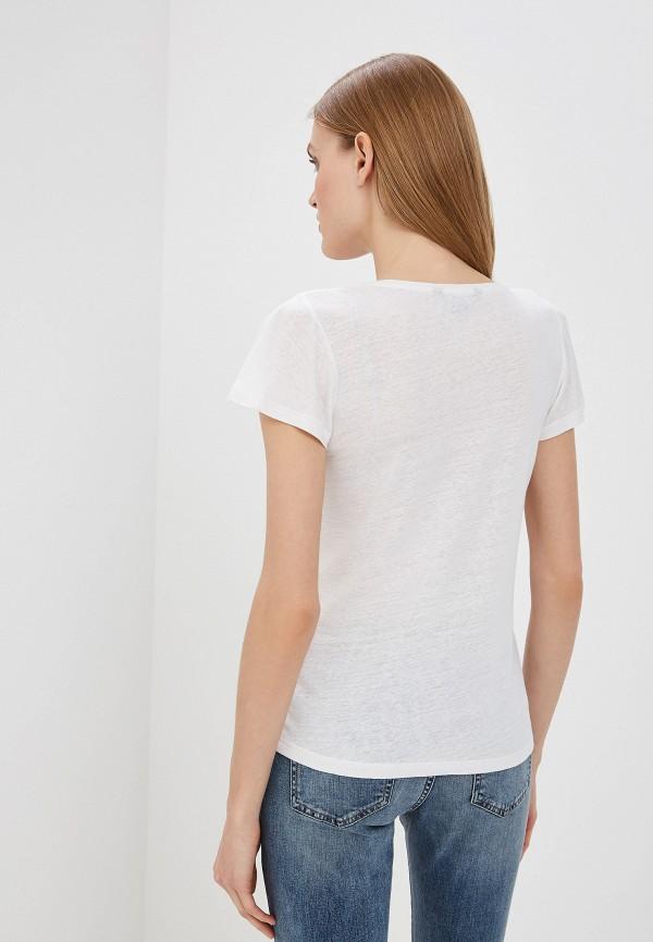 Фото 3 - женскую футболку Lauren Ralph Lauren белого цвета