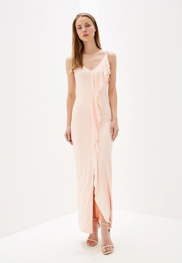 Фото - женское вечернее платье Lauren Ralph Lauren розового цвета