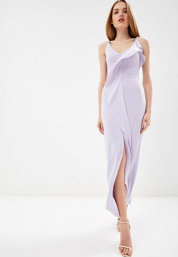 Купить Платье Lauren Ralph Lauren, EVENING DRESSES COLLECTION, la079eweksx7, фиолетовый, Весна-лето 2019