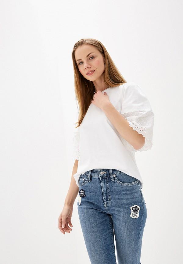Фото - Блузу Lauren Ralph Lauren белого цвета