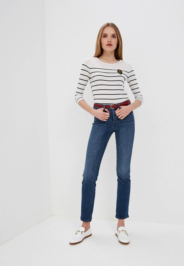Фото 2 - женские джинсы Lauren Ralph Lauren синего цвета