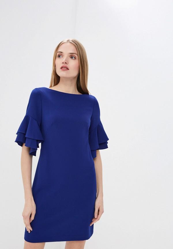 Купить Платье Lauren Ralph Lauren, la079ewezce3, синий, Весна-лето 2019