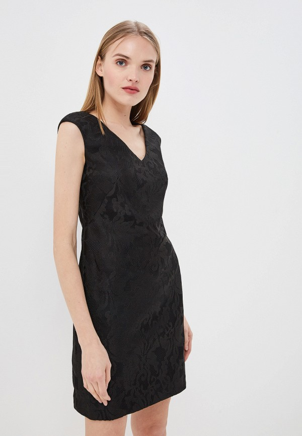 женское платье-футляр lauren ralph lauren, черное