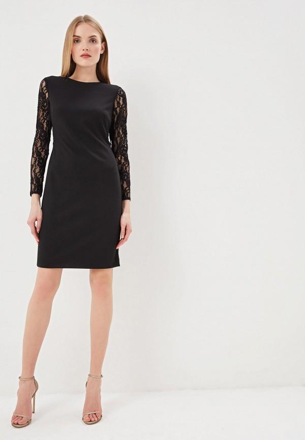 Фото 2 - женское повседневное платье Lauren Ralph Lauren черного цвета