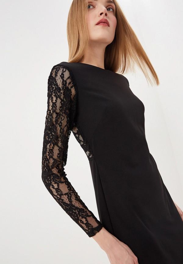 Фото 4 - женское повседневное платье Lauren Ralph Lauren черного цвета
