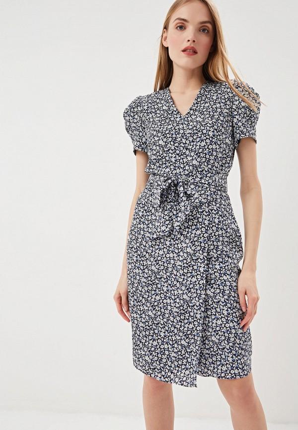 Купить Платье Lauren Ralph Lauren, la079ewezcg6, синий, Весна-лето 2019