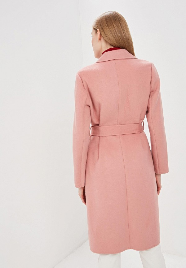 Фото 3 - женское пальто или плащ Lauren Ralph Lauren розового цвета