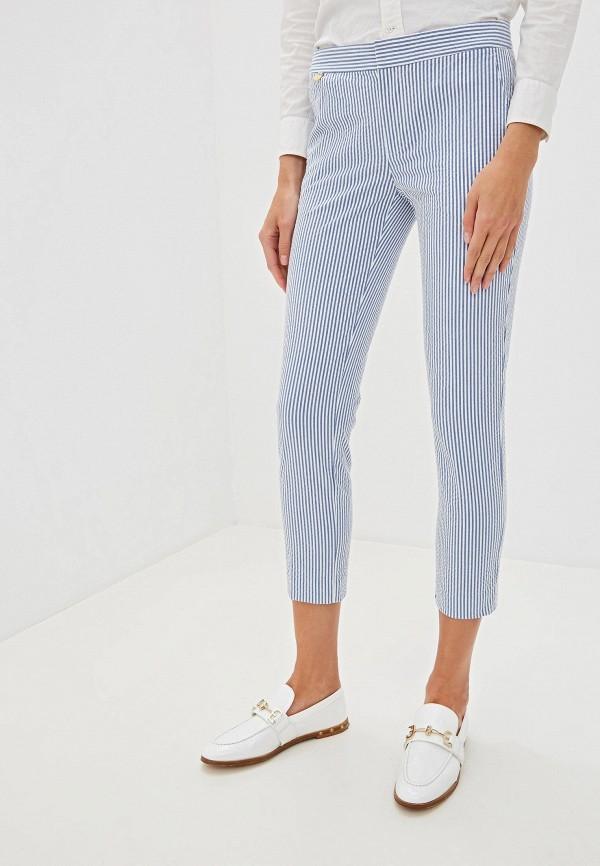 женские повседневные брюки lauren ralph lauren, белые