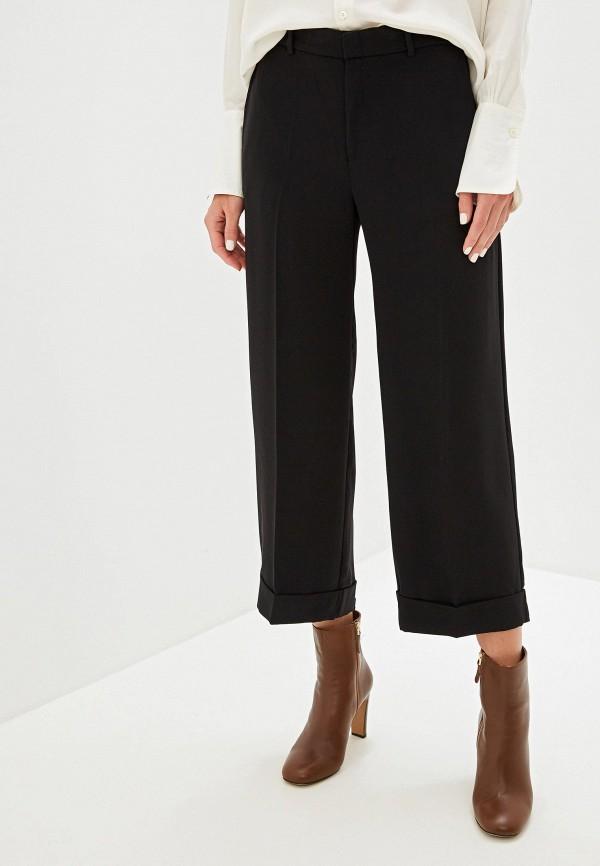 женские классические брюки lauren ralph lauren, черные