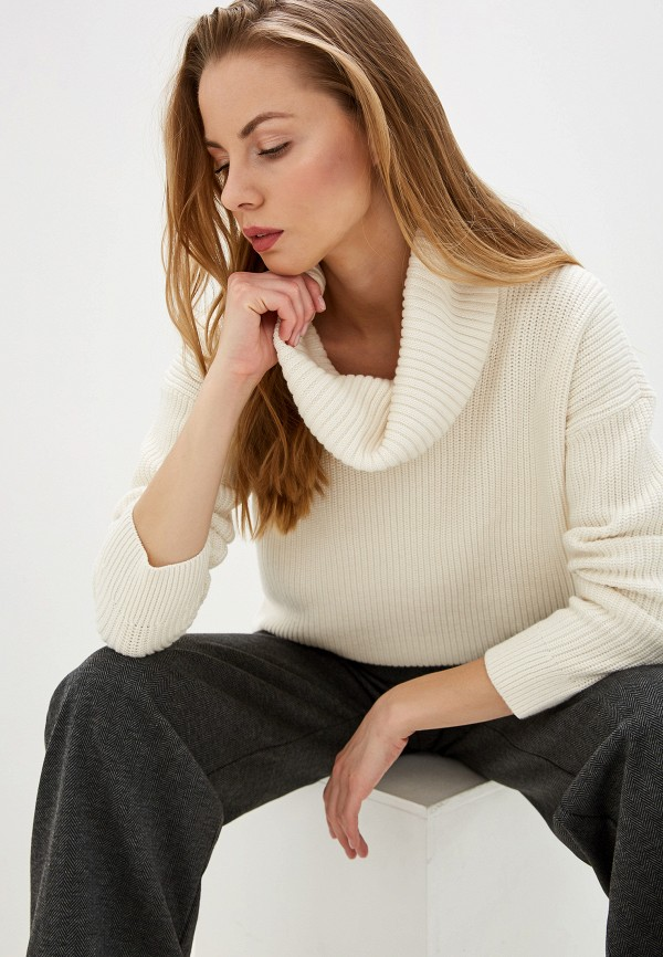 женский свитер lauren ralph lauren, белый