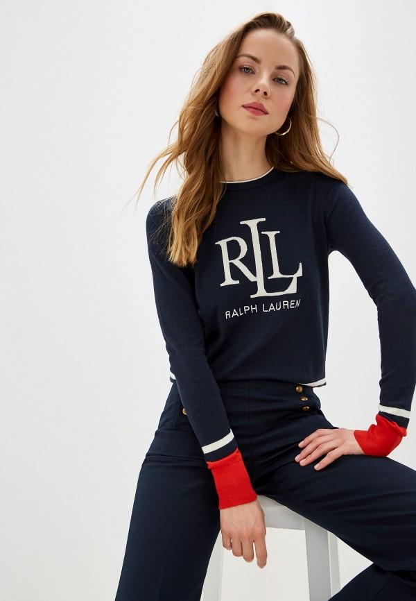 Фото - женский джемпер Lauren Ralph Lauren синего цвета