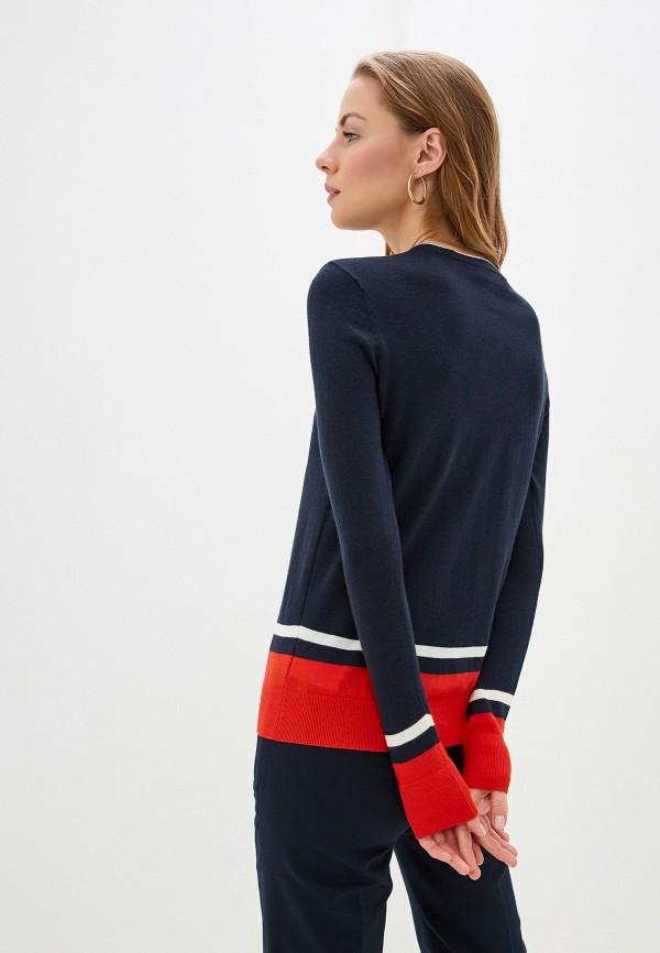 Фото 3 - женский джемпер Lauren Ralph Lauren синего цвета