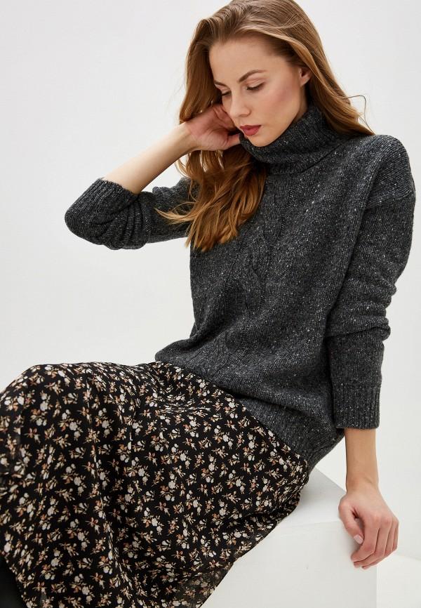 женский свитер lauren ralph lauren, серый