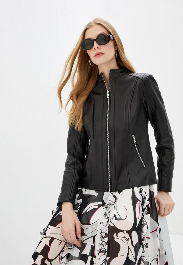 женская куртка lauren ralph lauren, черная