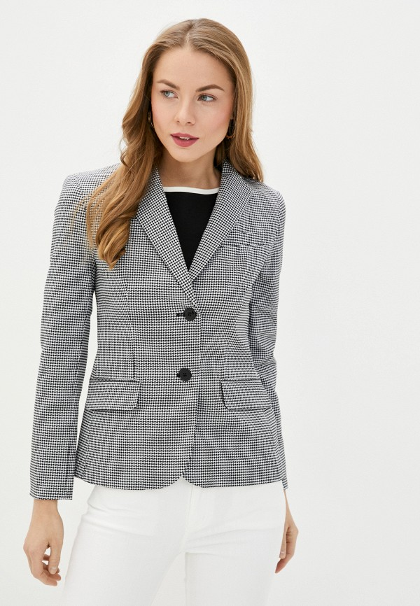 женский пиджак lauren ralph lauren, черный