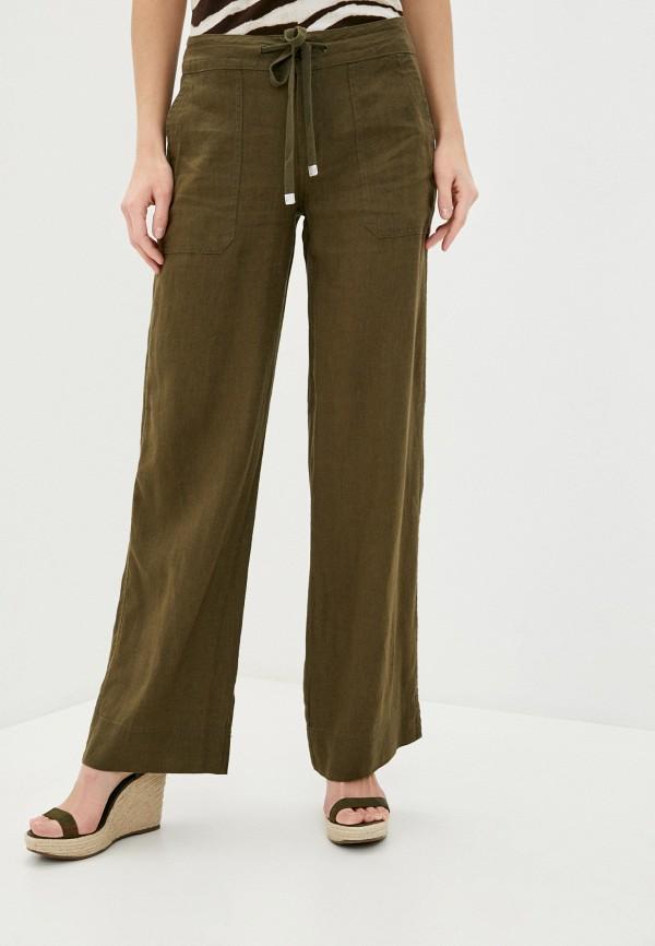 женские повседневные брюки lauren ralph lauren, хаки