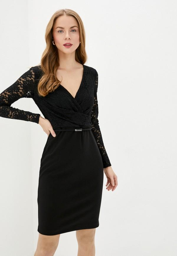женское повседневные платье lauren ralph lauren, черное