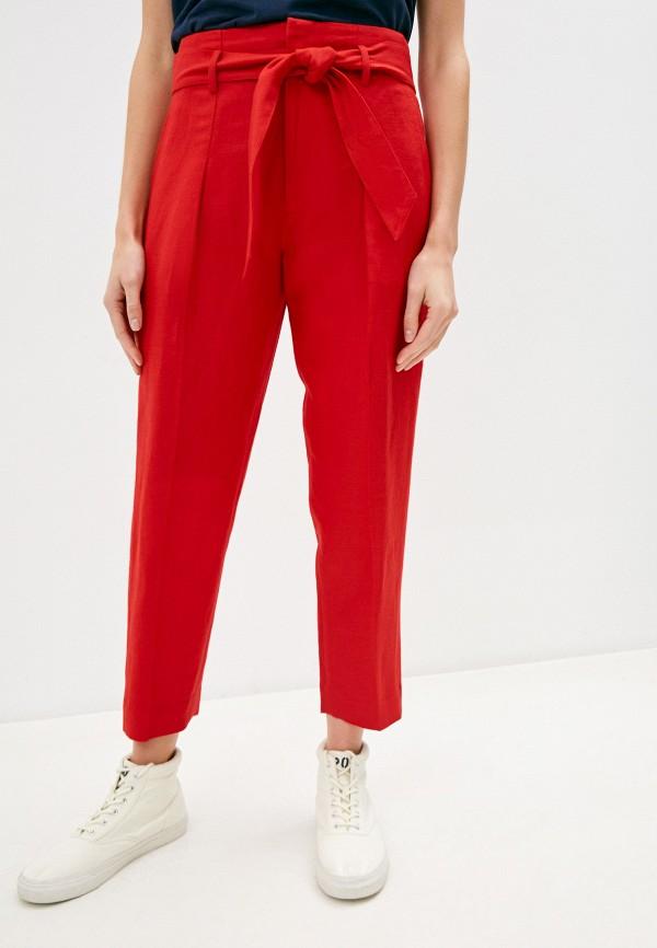 женские повседневные брюки lauren ralph lauren, красные