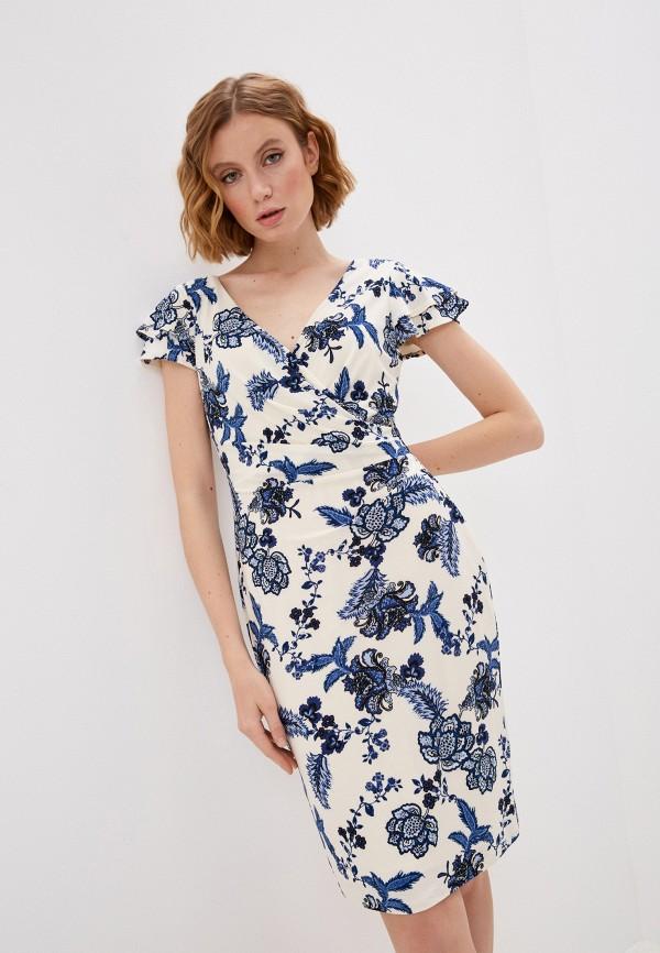 женское повседневные платье lauren ralph lauren, разноцветное