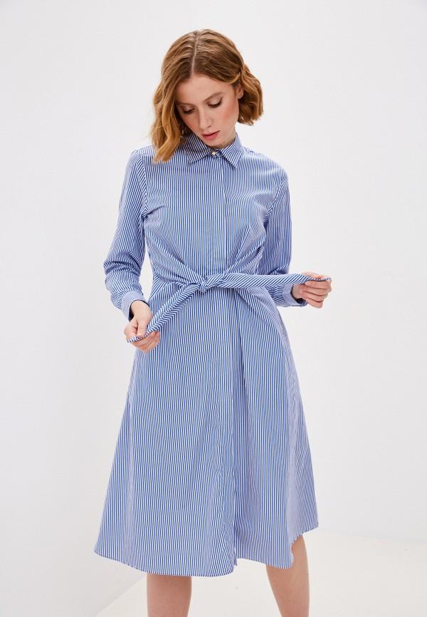 женское платье lauren ralph lauren, синее