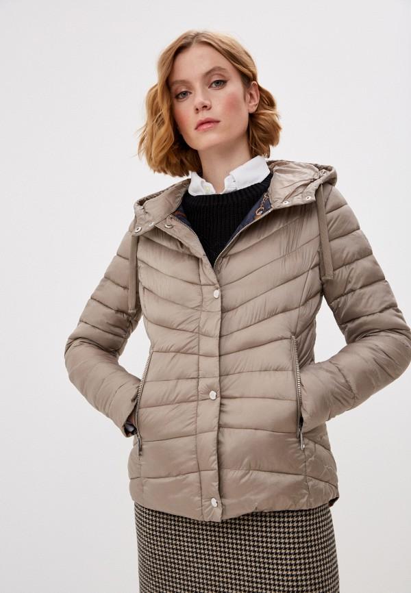 женская куртка lauren ralph lauren, бежевая