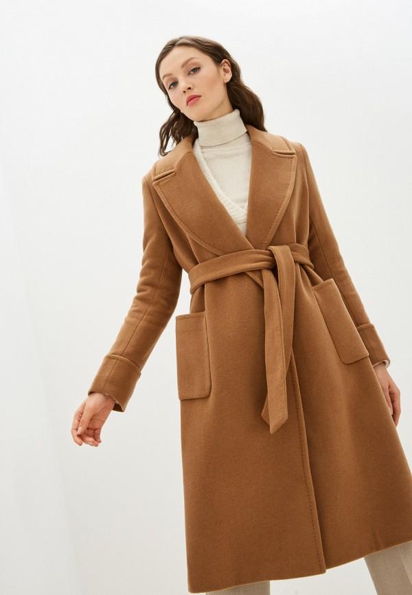 женское пальто lauren ralph lauren, коричневое