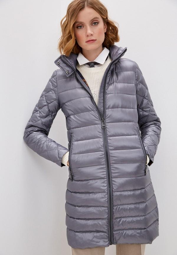 женская куртка lauren ralph lauren, серебряная