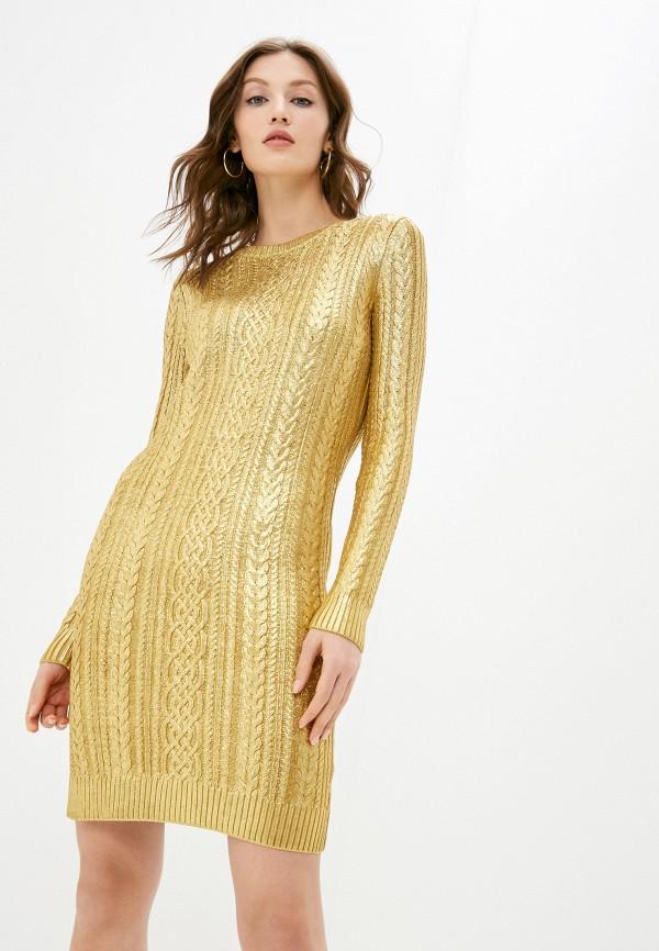 женское платье lauren ralph lauren, золотое