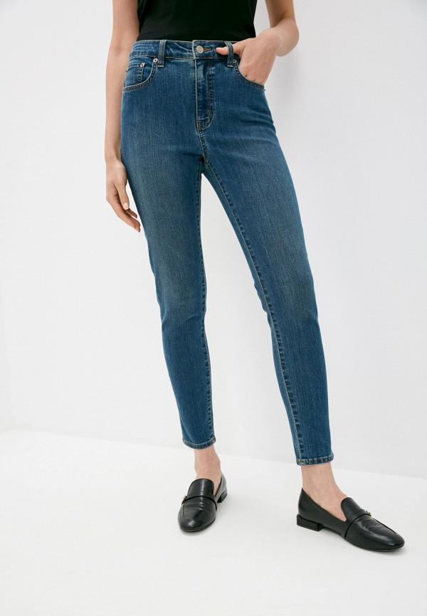 женские джинсы скинни lauren ralph lauren, синие