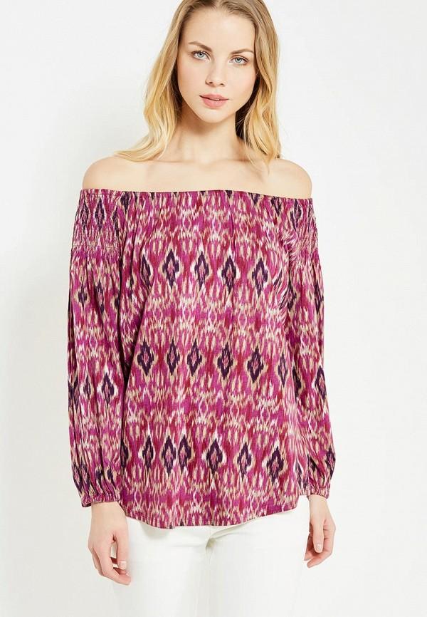 женская блузка lauren ralph lauren, розовая