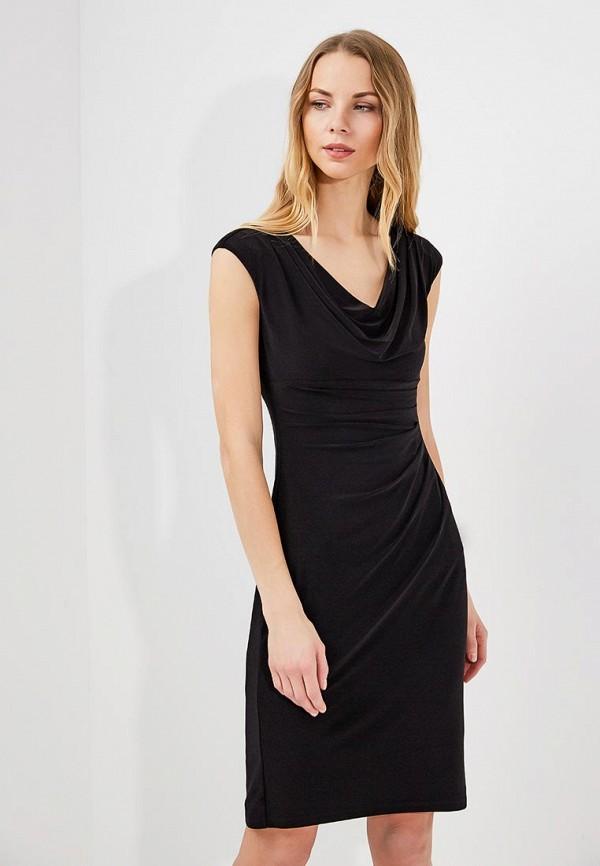 Фото - женское платье Lauren Ralph Lauren черного цвета