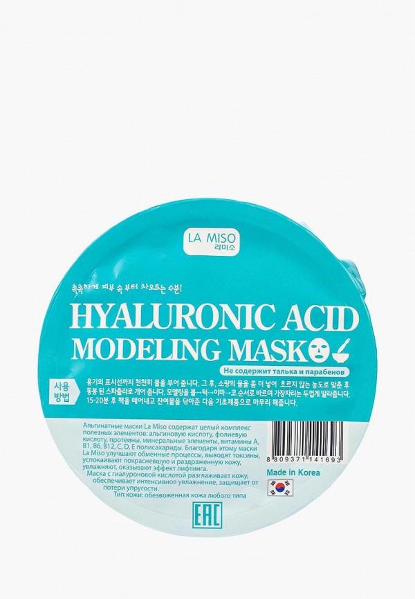 Купить Маска для лица La Miso, моделирующая (альгинатная) с гиалуроновой кислотой, la080lwqmm57, Весна-лето 2019