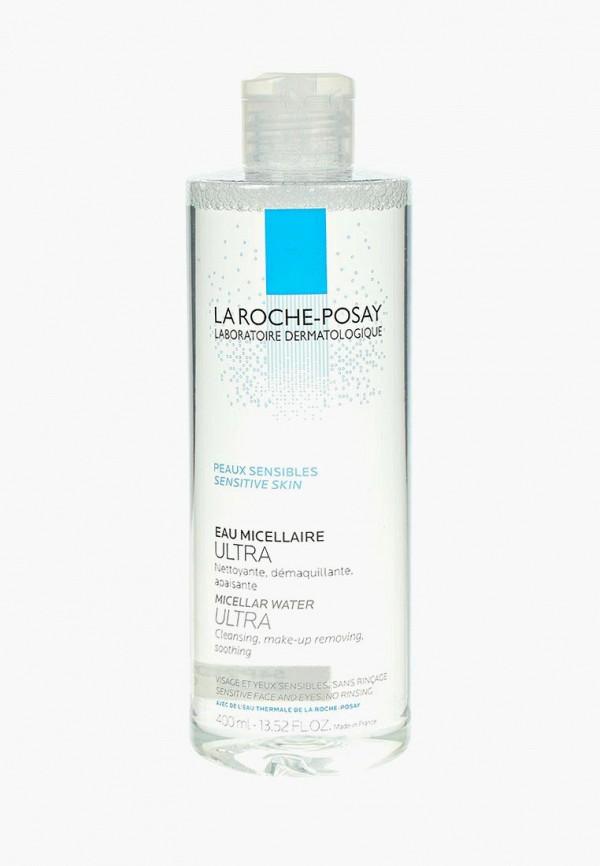 Купить Мицеллярная вода La Roche-Posay, ULTRA для чувствительной кожи лица и глаз 400 мл, la082lwtxq13, прозрачный, Весна-лето 2019