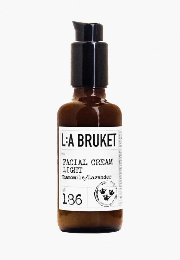 Купить Крем для лица La Bruket, CHAMOMILE LAVENDER Facial Cream light 50 мл, la084lubyeh0, белый, Осень-зима 2018/2019