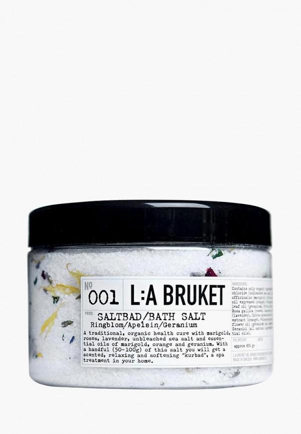 Соль для ванн La Bruket La Bruket LA084LUHF031 соль для ванн dr sea соль мертвого моря
