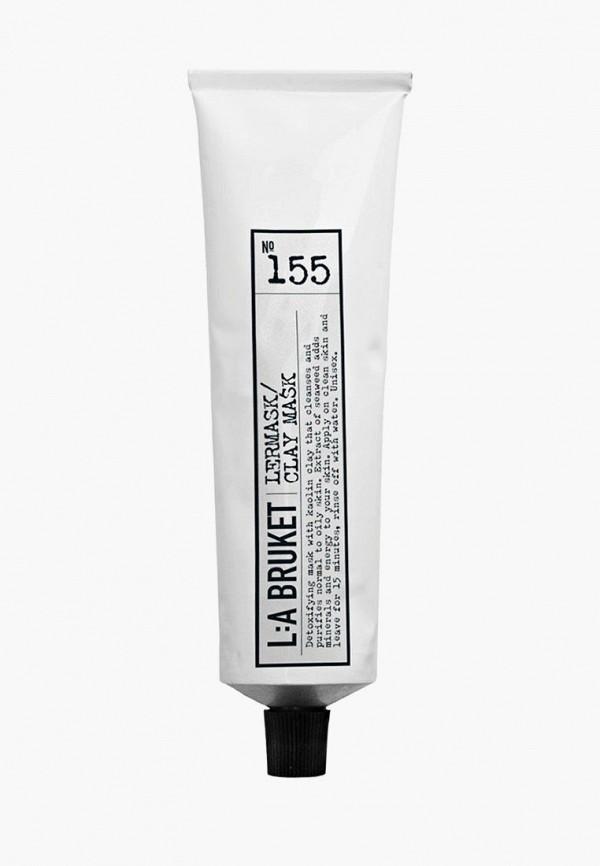 Купить Маска для лица La Bruket, 155 Clay mask Глиняная 100 мл, la084luwvf32, прозрачный, Осень-зима 2018/2019