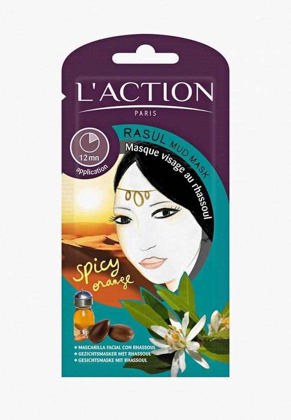 Купить Маска для лица L'Action, с глиной расул Rasul Mud, 12 г, LA087LWCJZA6, белый, Осень-зима 2018/2019