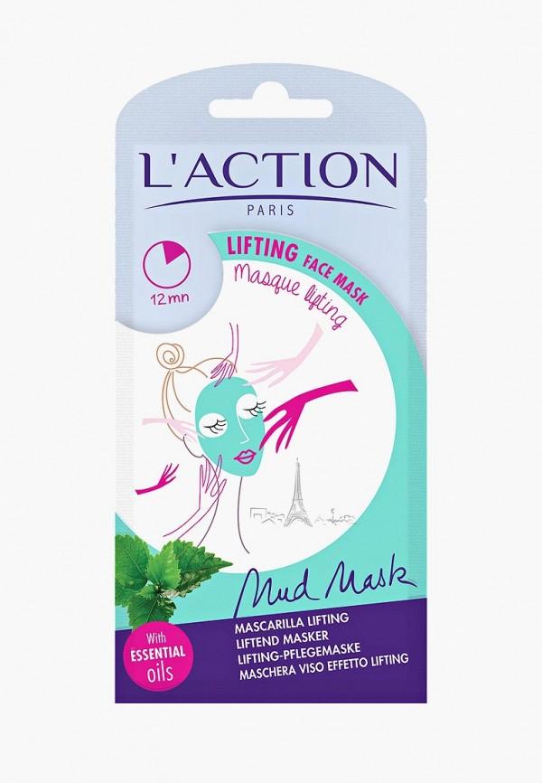 Купить Маска для лица L'Action, подтягивающая, Lifting, 15 г, LA087LWCJZC1, белый, Осень-зима 2018/2019
