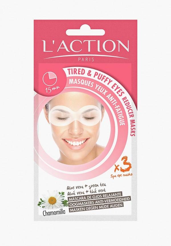 Купить Маска для кожи вокруг глаз L'Action, против усталости для контура глаз: алоэ вера и зеленый чай, Tired&Puffy eyes reducer, la087lwcjzc6, прозрачный, Осень-зима 2018/2019
