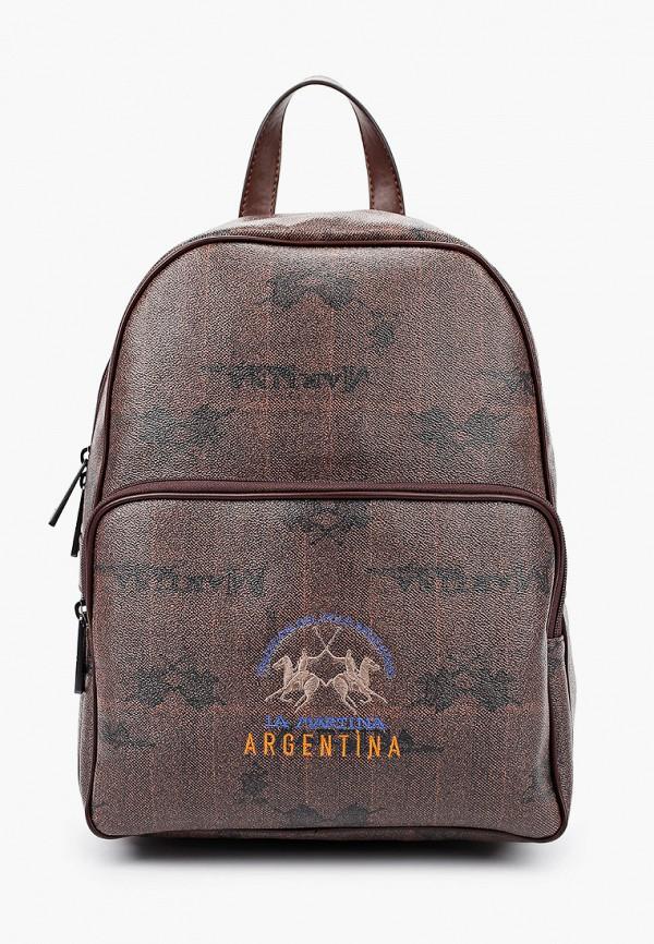 мужской рюкзак la martina, коричневый