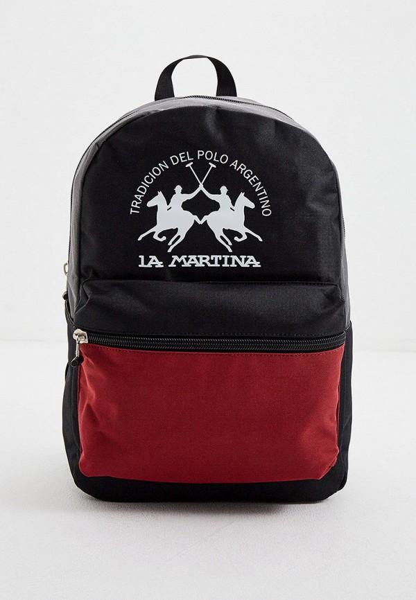 мужской рюкзак la martina, черный