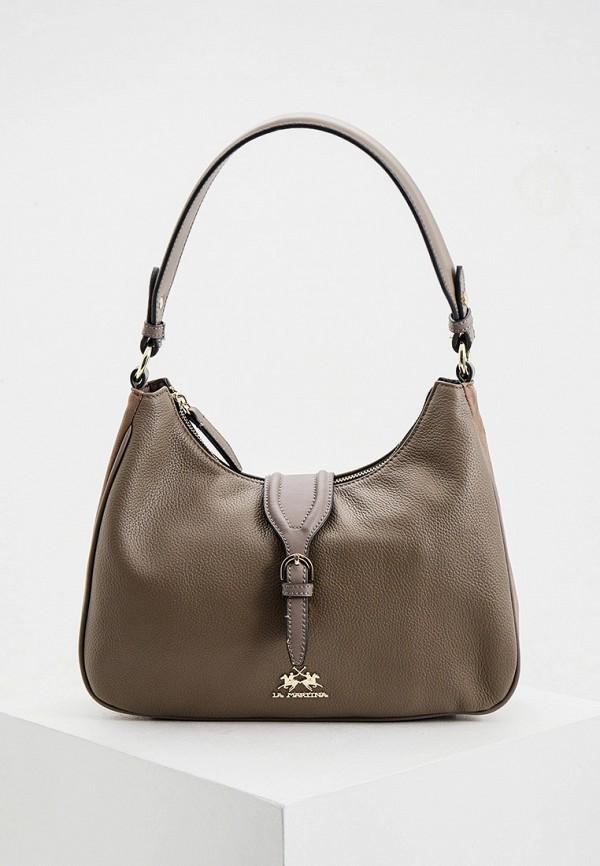 женская сумка la martina, серая